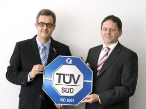easyCredit-Qualitätsmangement TÜV-zertifiziert